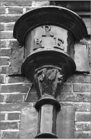 The Drain Head with RRE clearly visible