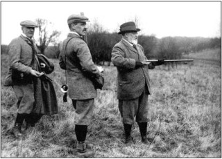 Edward VII shooting at Hall Barn
