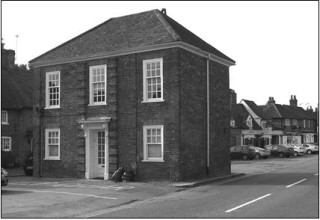 The Lock Up later became the Hall Barn Estate Office
