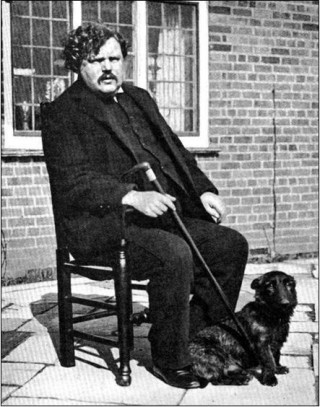 G K Chesterton in 1910 | Beaconsfield & District Historical Society