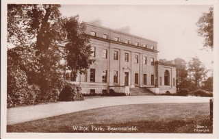 Front view of Wilton Park which was also known as The White House | Beaconsfield & District Historical Society