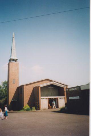 St Thomas Church, Holtspur