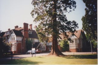 Butler's Court during the time of Wiggins Teape.