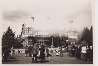 Butler's Court on Fire in 1934