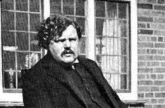 G K Chesterton 1874-1936