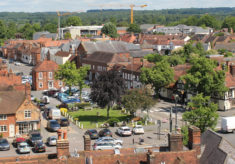 View from Church Tower 2016