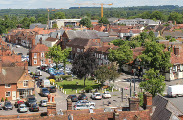 View from Church Tower 2016 | Lynda Cornwell