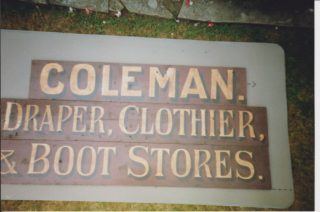 Coleman, Draper, Clothier and Boot Stores, 35 London End