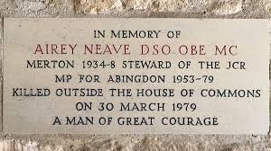 Memorial to Airey Neave