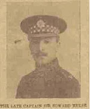 Captain Sir Edward Hamilton Hulse | The Western Gazette, March 19th 1915 (Jon Walters)