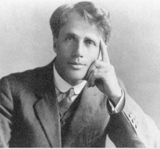 Robert Frost taken in High Wycombe 1913 | Kari Dorme