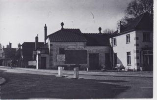 The Old {Picture House (Burkes Hall) at the bottom of Burkes Road