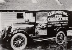 Photograph of dairy trade van