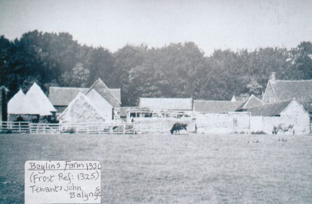 Black and White photograph of Baylins Farm | unknown
