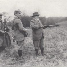 King Edward VII shooting on the Hall Barn Estate