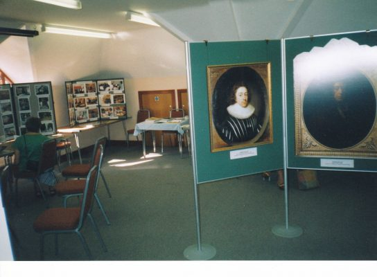 View of room at Waller Exhibition  | Beaconsfield & District Historical Society