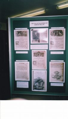 Collection of works - Edmund Waller Exhibition  | Beaconsfield & District Historical Society