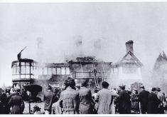 Butler's Court fire.
