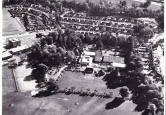 Aerial View of Butler's Court.