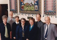 Photograph of employees at Butler's Court.