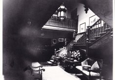Photograph of interior of Butler's Court.