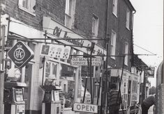 Photograph of Old Beaconsfield Service Station