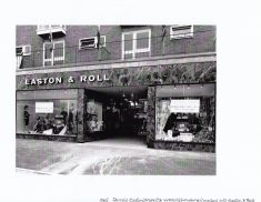 Photograph of Easton and Roll department store