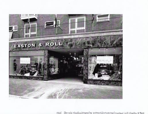 Photograph of Easton and Roll department store | unknown