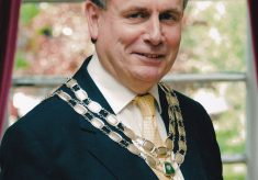 Coloured photograph of the Mayor 2012/13