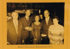 Photograph of the Mayor's Reception 1974.