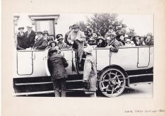 Copy of photo of local coach outing 1920s