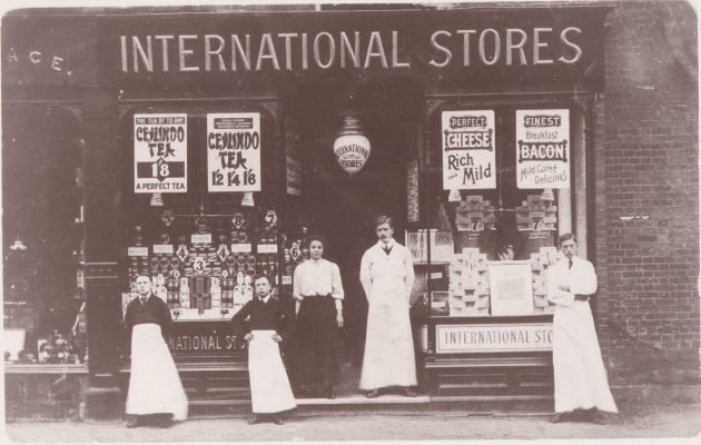 Photograph of International Stores