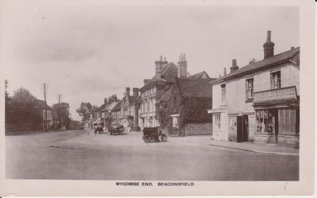 Postcard photograph showing Wycombe End   Unknown