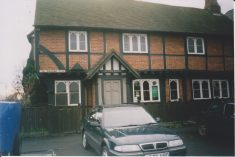 Colour Photograph of premises at end of The Broadway, Wycombe End