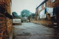 Colour photograph of Factory Yard, off Wycombe End