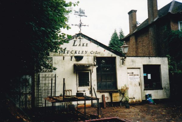 Coloured photo of the Forge at No 1 Wycombe End | Unknown