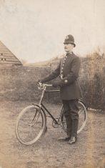 Postcard of P C William George Faithful