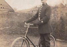Postcard of P C William George Faithfull